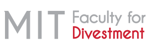 MIT Faculty for Divestment